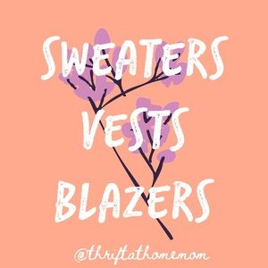 Other - SWEATERS VESTS AND BLAZERS